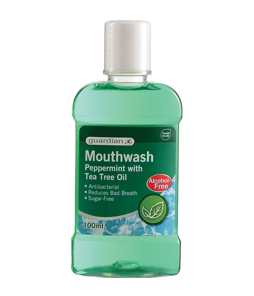 Mouthwash tea tree oil