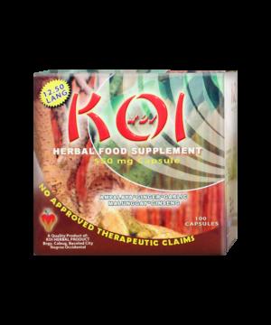 Koi Herbal Capsules 550 mg