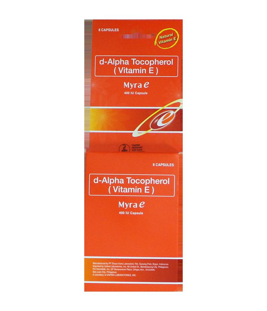MYRA E 400 E CAPSULE 8X1 | Rose Pharmacy
