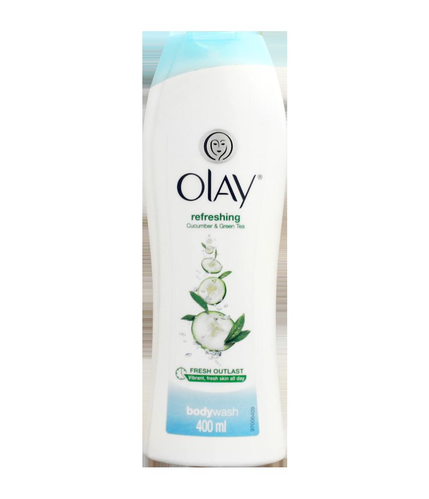 Olay Body Wash Refreshing Cucumber And Green Tea 400ml
