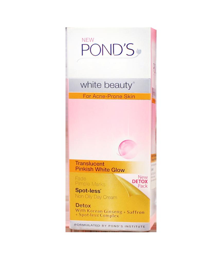 Ponds White Beauty For Acne Prone Skin 40g Rose Pharmacy Men Solution Gel 20 Gr