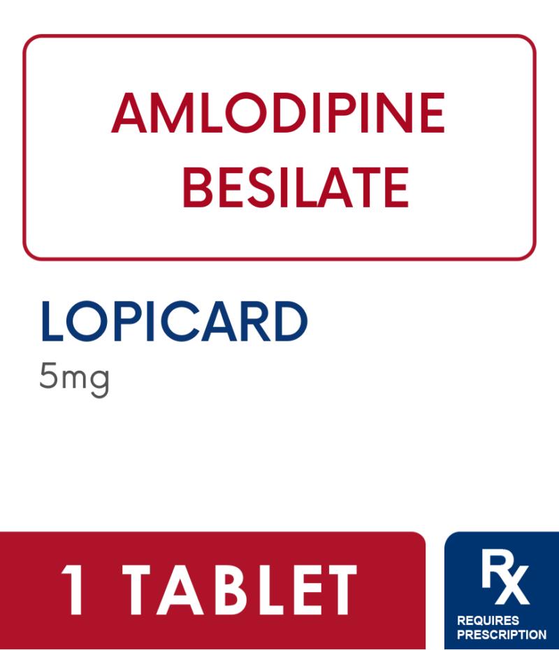 LOPICARD 5MG