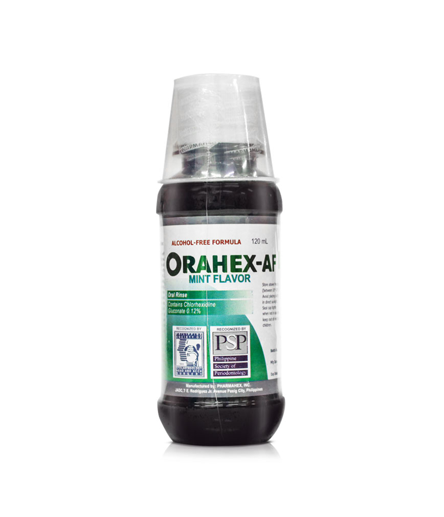 Orahex Af Oral Rinse 0 12 120ml Rose Pharmacy