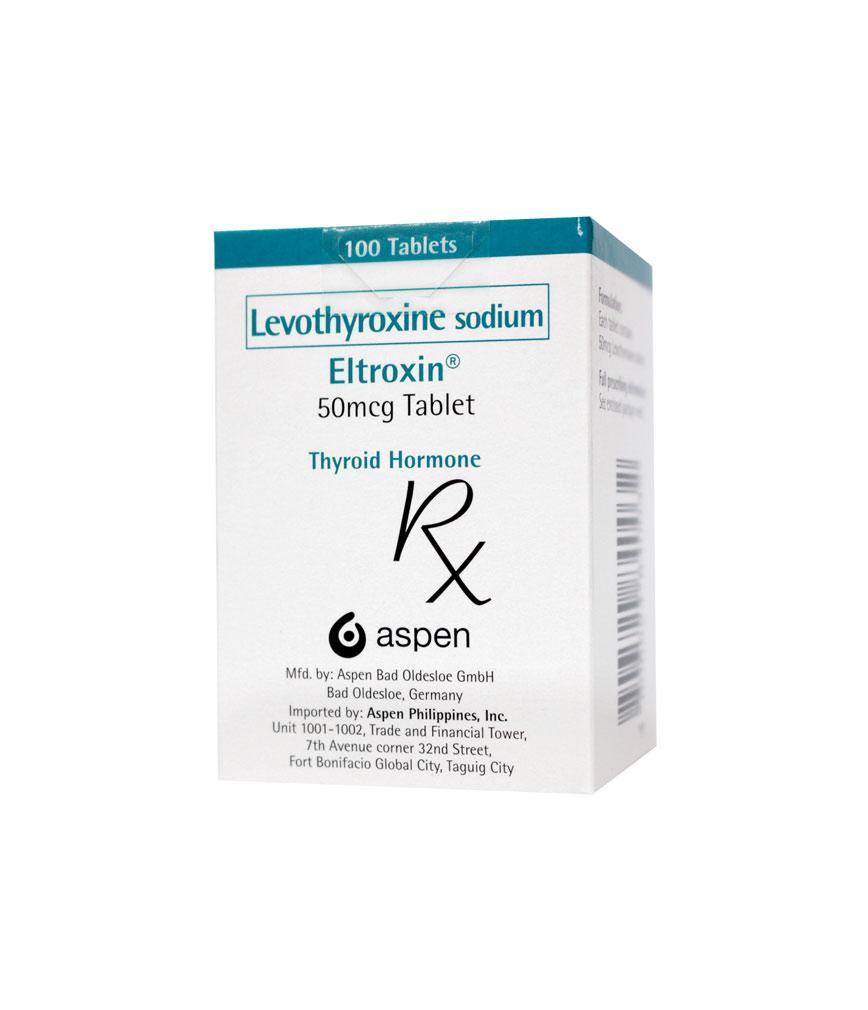 Eltroxin 50mcg Tablet Rose Pharmacy