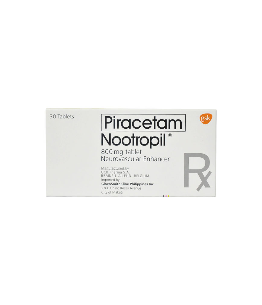 Nootropil 800mg Tablet Rose Pharmacy
