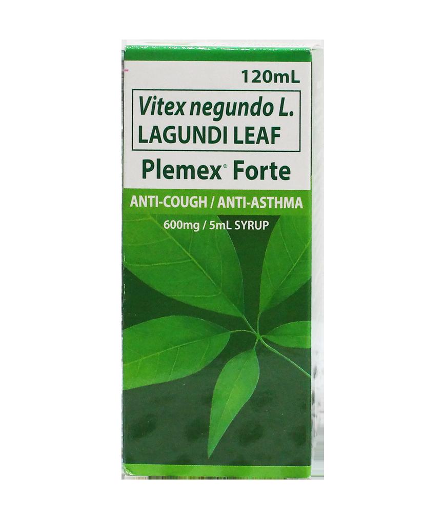 Plemex Forte 600mg 5ml Syrup 120ml Rose Pharmacy