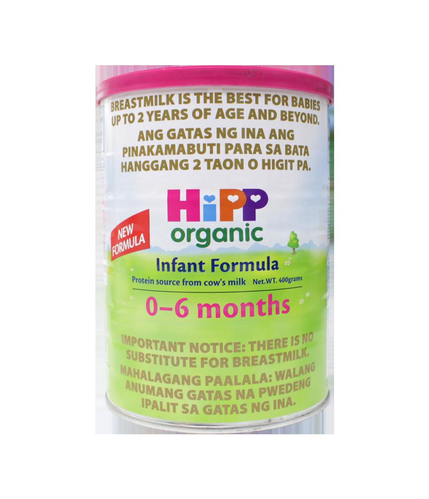 Hipp Organic Infant Formula 0 6 Months 400g Rose Pharmacy