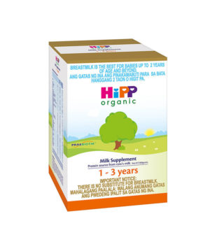 HIPP ORGANIC MILK SUPPLEMENT 1-3 YEARS OLD 800G