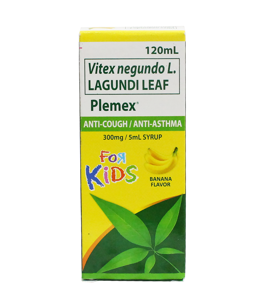 Plemex Kids Banana Syrup 120ml Rose Pharmacy