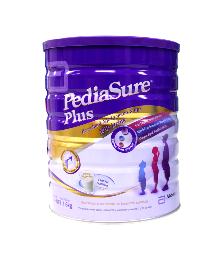 Pediasure Plus Vanilla Milk Drink 3 Years Old Amp Up 1600g