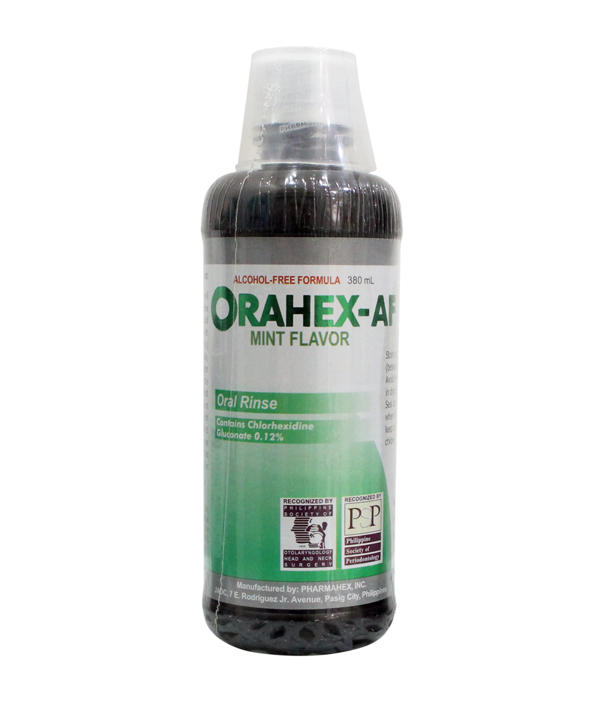 Orahex Af Mint Flavor 380ml Rose Pharmacy