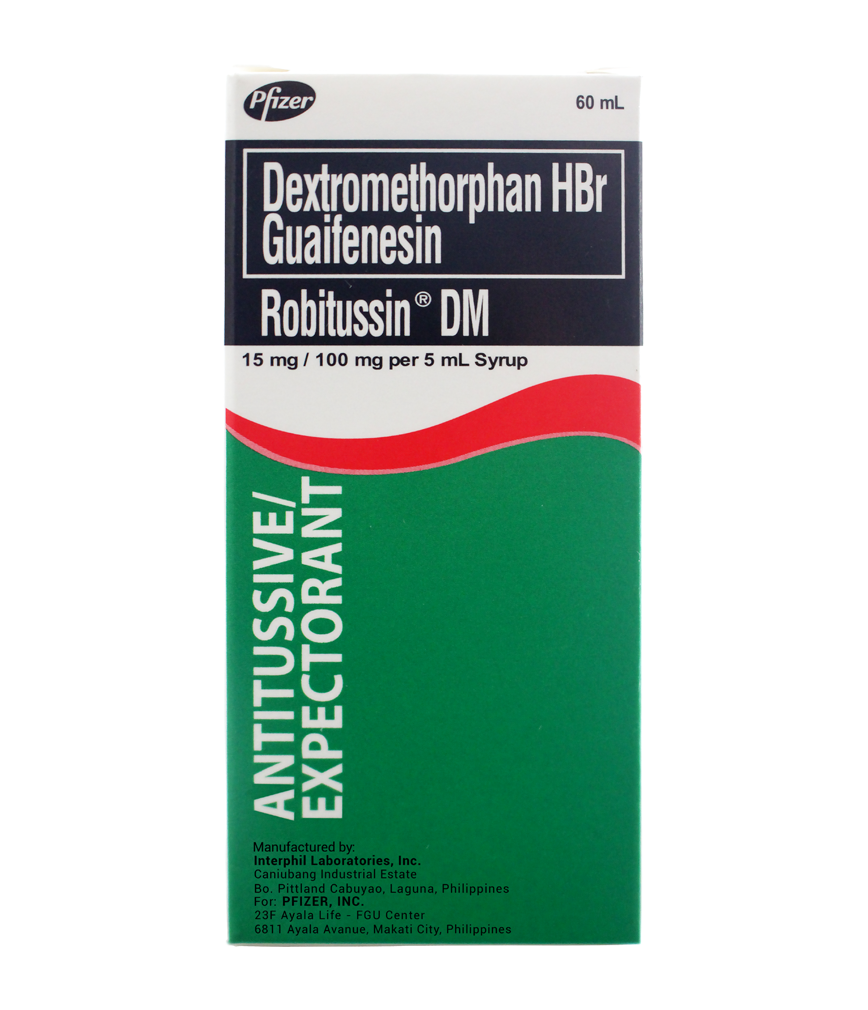 Robitussin Dm Syrup 60ml Rose Pharmacy Tempra