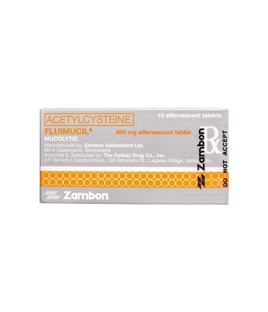 Mucolytic drug Fluimucil: instructions for use 8
