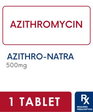 Azithro-Natra 500Mg Tablet