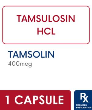 TAMSOLIN 400MCG