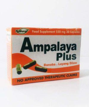Ampalaya+Banaba 550mg