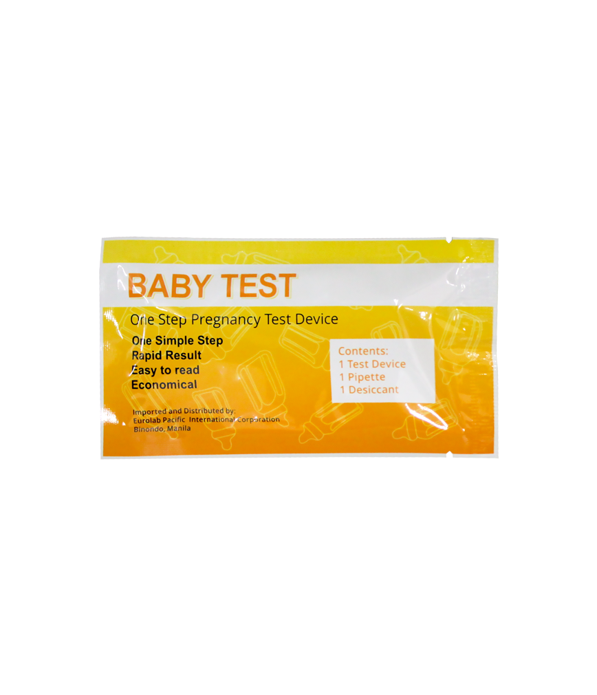 baby test pregnancy test deluxe plate rose pharmacy. Black Bedroom Furniture Sets. Home Design Ideas