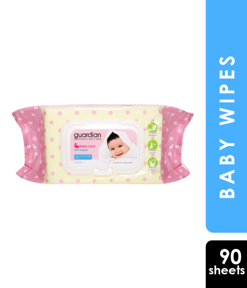 GUARDIAN BABY WIPES CHAMOMILE