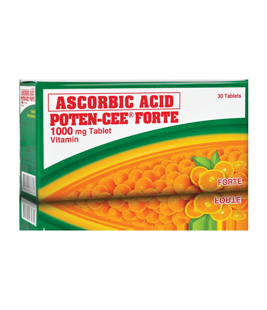 Poten Cee Forte Tablet 1g 30x1 Rose Pharmacy
