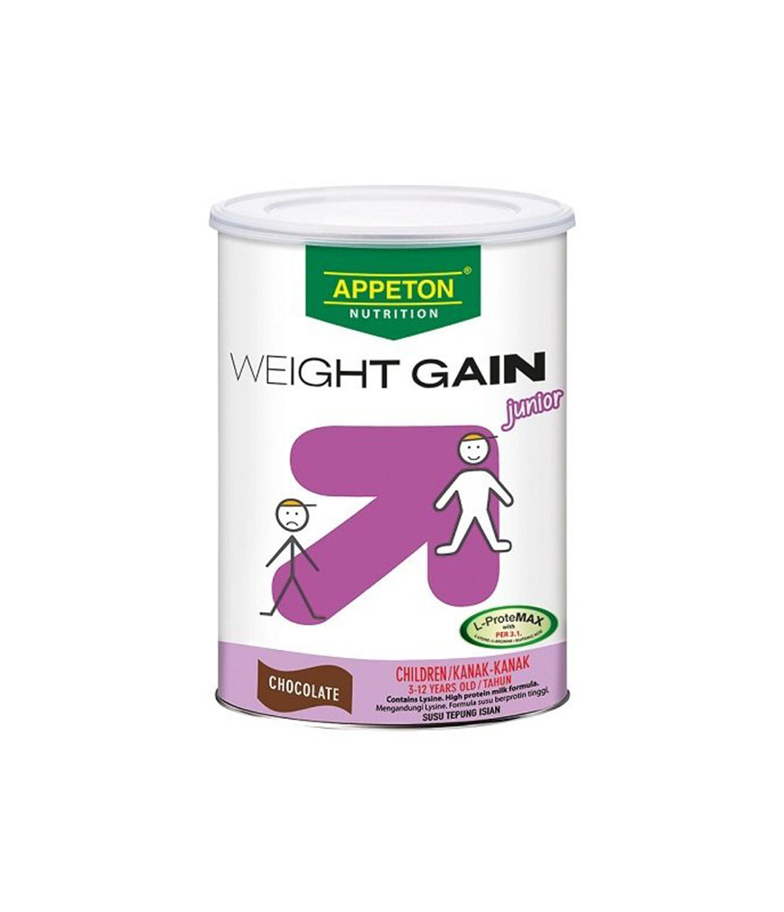 APPETON WEIGHT GAIN JUNIOR CHOCO 450G