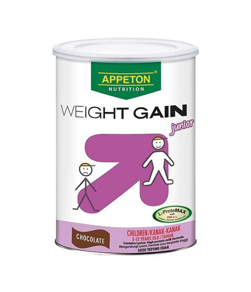 Appeton Weight Gain Junior Choco 900g Rose Pharmacy