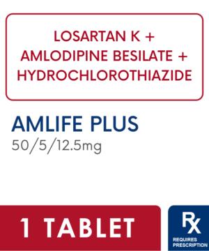 AMLIFE PLUS 50/5/12.5MG FC