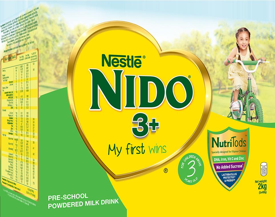 NIDO ADVANCE PRO 3 5X400G 2KG