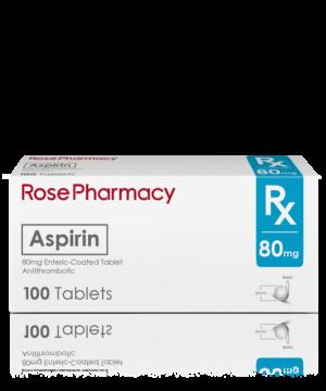 ASPIRIN 80MG EC TABLET