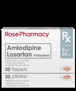 AMLO+LOSARTAN 5/50MG - ROSE PHARMACY GENERICS