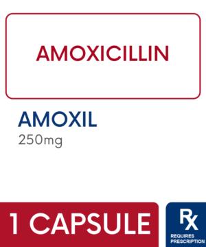 AMOXIL 250MG CAPSULE