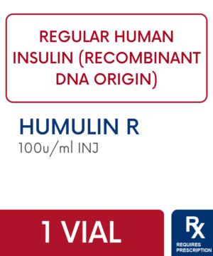 HUMULIN R VL 10 ML