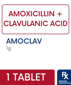AMOCLAV 1G TABLET