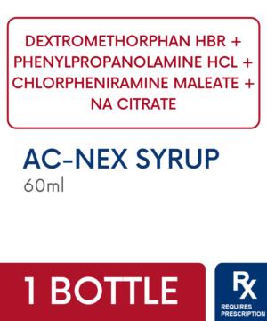 AC-NEX SYR 60ML