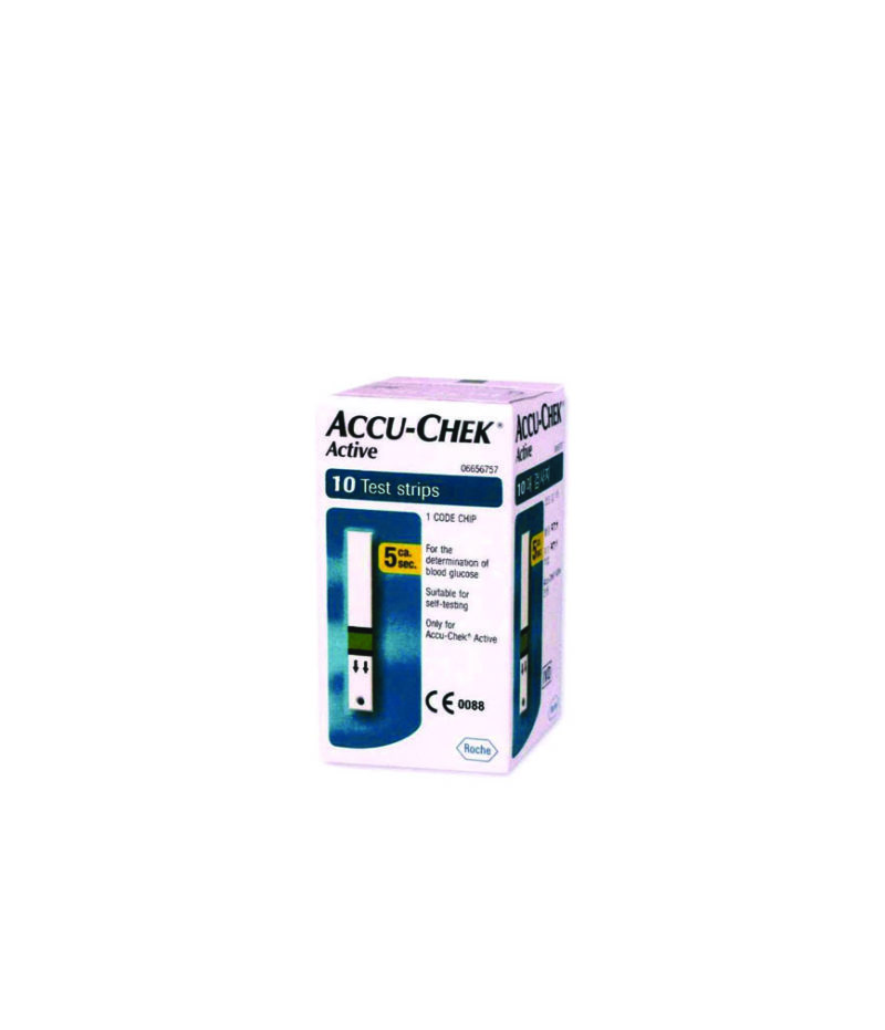 ACCU-CHEK ACTIVE MIC 10 STRIPS