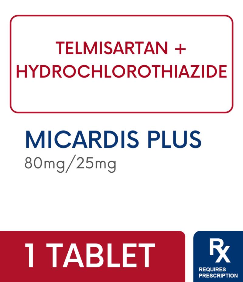 MICARDIS PLUS 80MG