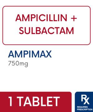AMPIMAX 750MG