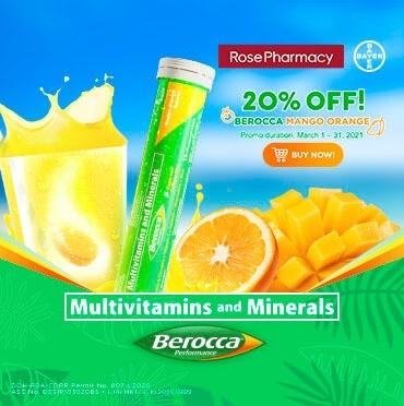Buy Online Berocca Multivitamins