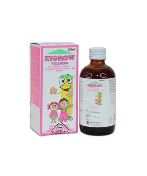 Higrow Vitamins Syrup 120ml